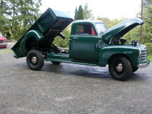 1949 Chevrolet Pickup Truck with Dump Bed